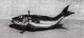لوحة السمكة ليوسف عبدلكي
