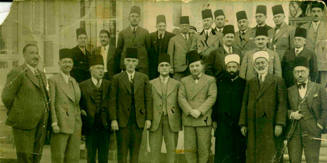 members of Syrian National Bloc, اعضاء حزب الكتلة الوطنية في سوريا فترة الإحتلال الفرنسي