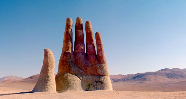 يد الصحراء، تشيلي. تصوير: ماركوس إسكالير